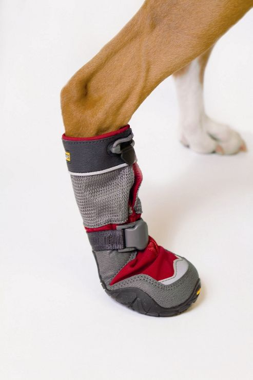 Ruff Wear Bark'n Boots? Polar Trex? Dog Boot in Red Rock - Medium (7cm W)