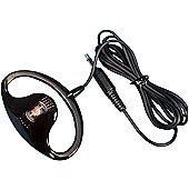 Maplin Two Way Radio & PMR Earpiece Headseat - Black