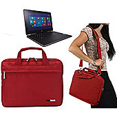 "11.6"" Black Laptop Bag For The DELL INSIRON 11-3162"