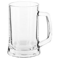 Tesco Tankard glass