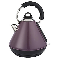 Tesco Pyramid Kettle, 1.7L - Purple