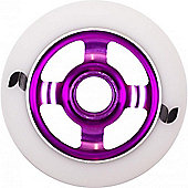 Stormer 4 Spoke Aluminium Hub Scooter Wheel - Purple
