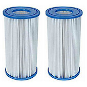 "Bestway Filter Cartridge III (4.2"" x 8"") 2x Pack"