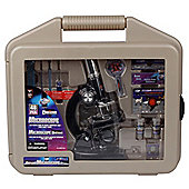 Deluxe Microscope Set In Hand Carrying Case