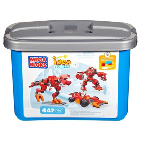 Mega Bloks Ideas Builders Classic Tub, Blue