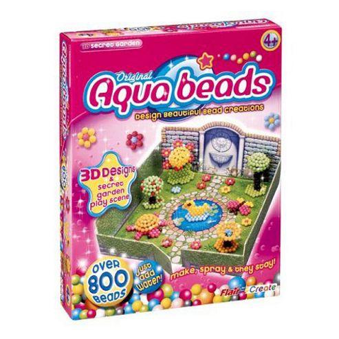Aqua Beads Art 3D Secret Garden