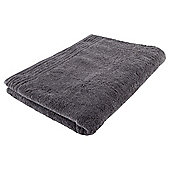 Tesco 100% Egyptian Cotton Bath Sheet Charcoal Grey