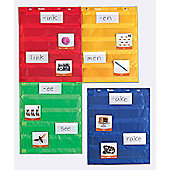Learning Resources Magnetic Pocket Chart Squares Set of 4