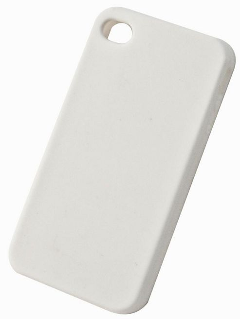 "Tortoiseâ""¢ Soft Silicone Case iPhone 4/4S White"