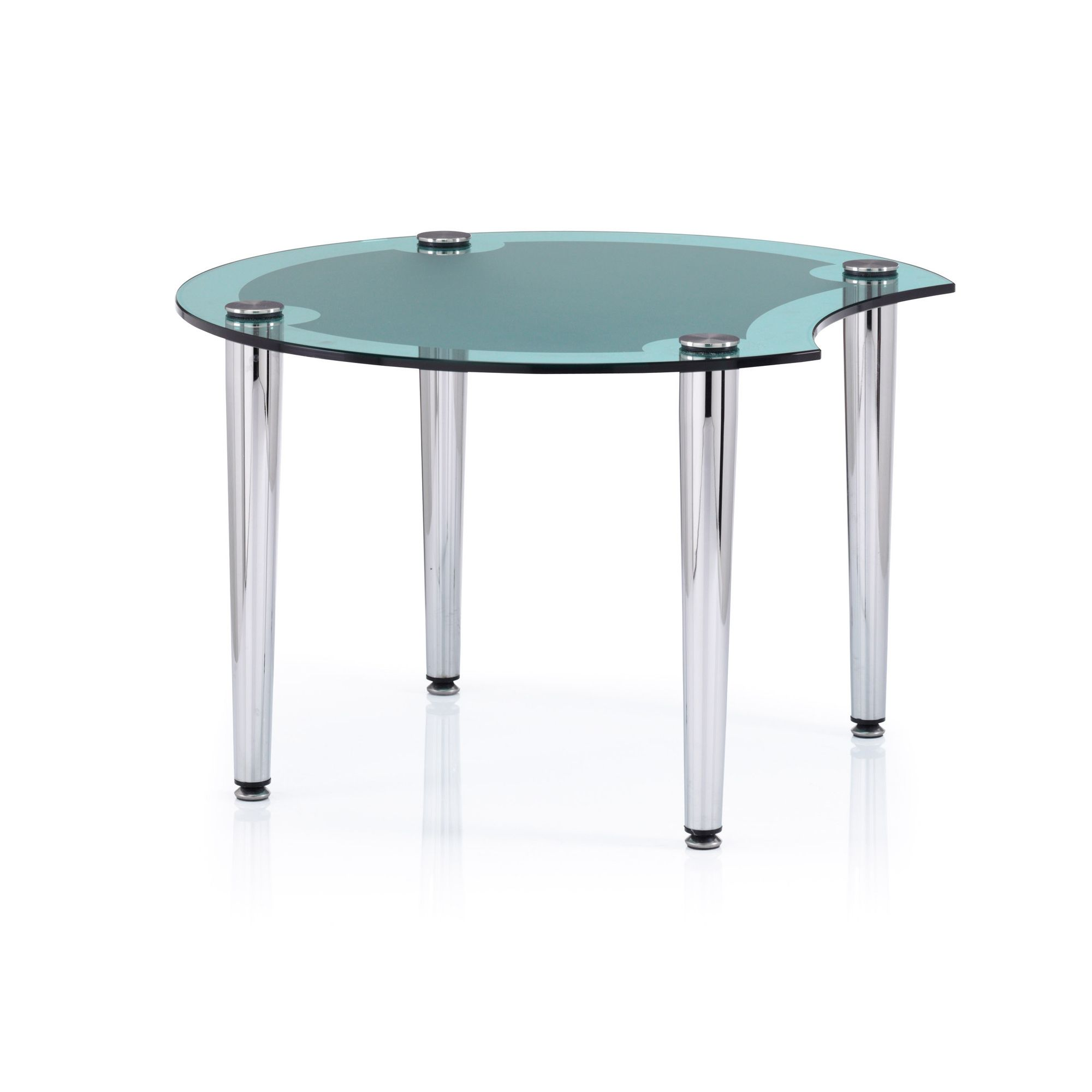 Ocee Design Casino End Table - Green at Tesco Direct