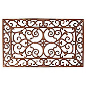 Fallen Fruits Cast Iron Doormat, Small