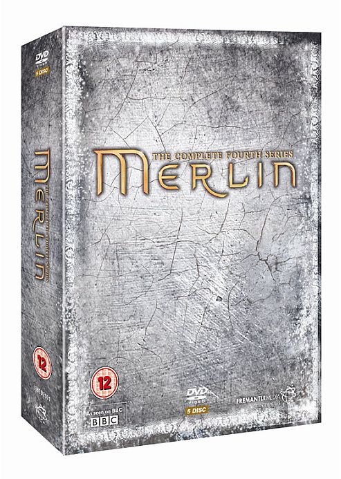 Merlin - Series 4 - Complete (DVD Boxset)