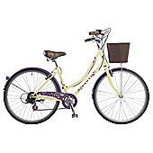 Dawes Hippy Duchess Citron 17 Inch Traditional Style Bike