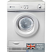 White Knight 77AW Condenser Tumble Dryer, 7kg, C Energy Rating, White