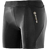 Skins A400 Womens Compression Short - Black