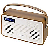 View Quest Retro ColourGen DAB+/FM Radio with iPod Dock (Brown, 8 Pin)