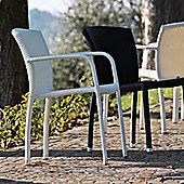 Varaschin Cafeplaya Dining Chair by Varaschin R and D (Set of 2) - White - Piper Rain