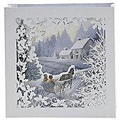 Luxury Winter Scene Cards 6pk