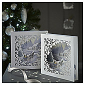 Luxury Winter Scene Christmas Cards, 6 pack