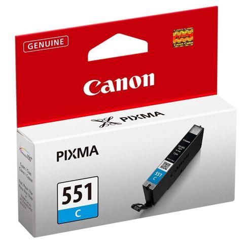 Canon Pixma Inkjet CLI 551 printer ink cartridge - Cyan