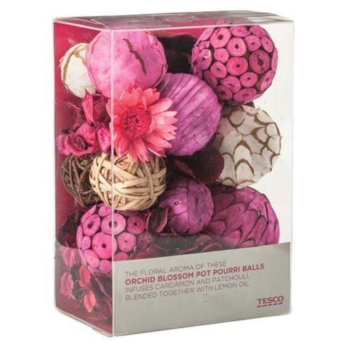 Tesco Orchid Blossom Pot Pourri Balls