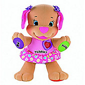 Fisher-Price Laugh & Learn Love To Play Puppy (Pink)
