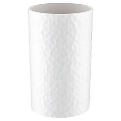 Tesco Textured Plastic Tumbler, White