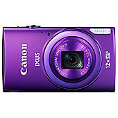 "Canon Ixus 265 Digital Camera, Purple, 16MP, 12x Optical Zoom, 3"" LCD Screen, Wi-Fi"