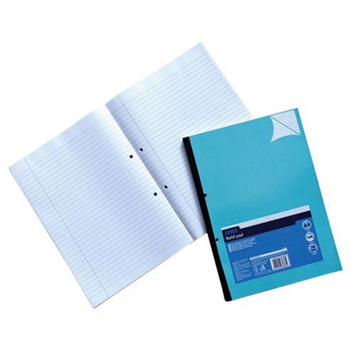 Tesco A4 Refill Pad, Blue
