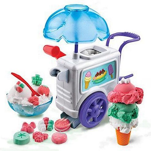 Moon Dough Kids Ice Cream Set