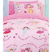 Dress Up Fairy, Girls Single Bedding Set