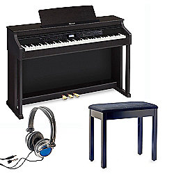 Casio AP-650PK with Free Bench and Headphones