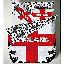 Catherine Lansfield Kids England Duvet Cover Set -Single