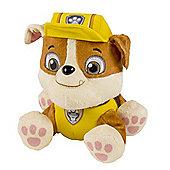"Paw Patrol Nickelodeon Pup Pals 6"" Plush Rubble"