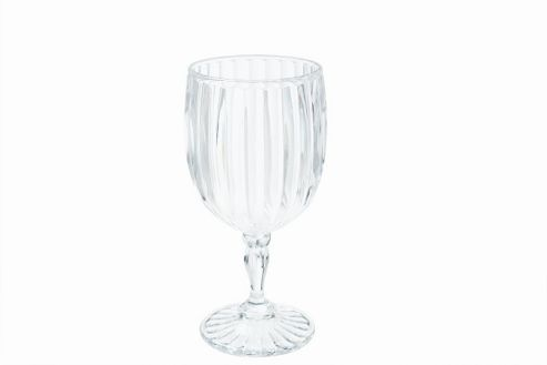 G.E.T Drinkware Fluted Wine Glass (Set of 5) - 14.61cm H x 7.62cm W x 7.62cm D