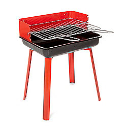 Landmann 11526 Portago Portable Charcoal BBQ - Red