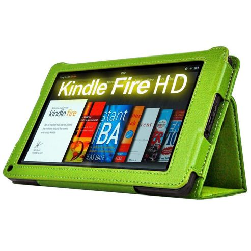 U-bop Neo-Orbit Midi Flip Case Green - For Amazon Kindle Fire HD 7 inch