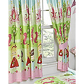 Pretty Princess and Unicorn, Girls Bedroom Curtains - 72s