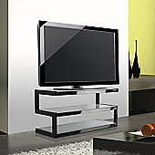 NorStone Esse TV Stand - Black / Frosted