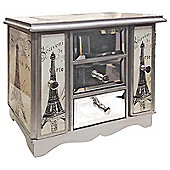Alterton Furniture Gifts and Accessories Night in Paris Glass Print Jewellery Box