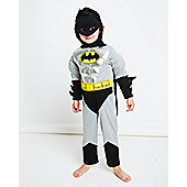 Batman Metallic Costume 5-6 Years