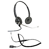 Radius 2100 Binaural CT Corded Headset & Smartcord bundle - Black