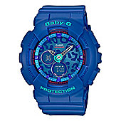 Casio Baby-G Ladies Blue World Time Watch BA-120LP-2AER