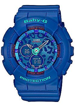 Casio Baby-G Ladies Blue World Time Watch BA-120LP-2AER