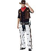 Western Cowboy Costume Medium