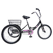 "Concept Tri-Mantis 20"" Wheel Girls Tricycle"