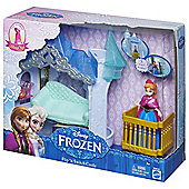 Frozen Small Anna Doll Flip N Switch Castle Exclusive