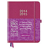 The Big Family School Year Diary, Pink