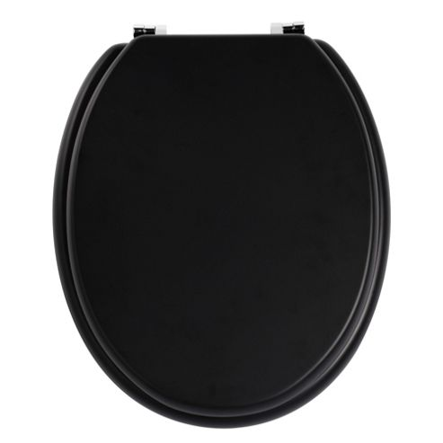 Premier Housewares Toilet Seat - Matt Black