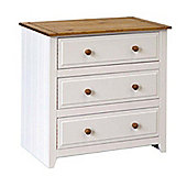 Home Essence Capri 3 Drawer Chest